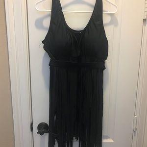 Other - Swimsuit fringe